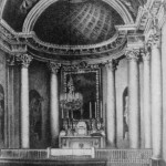 Интерьер часовни благовещения пресвятой девы Марии