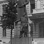 Памятник Г. В. Плеханову, установленный перед Технологическим институтом им. Ленсовета