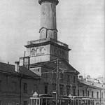 Деревянная пожарная каланча на Загородном проспекте
