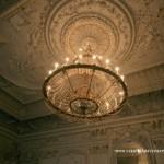 Плафон Белого (Танцевального) зала в особняке Брусницыных