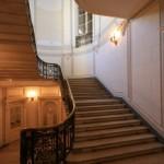 Парадная лестница в особняке О. В. Серебряковой