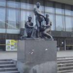 Скульптурная группа «Октябрь»