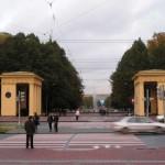 Пропилеи Московского парка победы