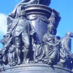 Фрагмент памятника Екатерине II