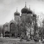 Церковь Спаса Нерукотворного образа на Волковском православном кладбище
