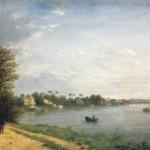 Вид на Елагин остров в Петербурге