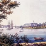 Вид Каменноостровского дворца