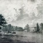 Каменноостровский театр (вид с Елагина острова)
