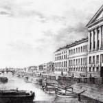 Вид Фонтанки от Измайловского моста