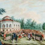 Церемония вручения воинского знамени Корпусу чужестранных единоверцев