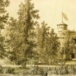 Руина в парке дачи Кушелева-Безбородко