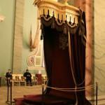 Царское место в Петропавловском соборе
