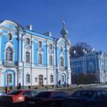 Корпуса Смольного монастыря