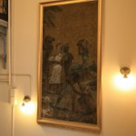 Мозаика в Парадной лестнице дома Ф. И. Лидваля