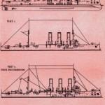 Боковой вид крейсера «Аврора»