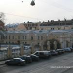Боковой корпус и ограда Воронцовского дворца