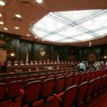 Зал заседаний Конституционного суда РФ