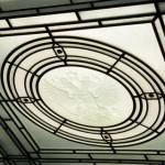 Фрагмент плафона зала заседаний Конституционного суда РФ