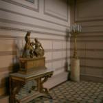 На Парадной лестнице Пушкинского дома