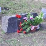 Закладной камень на площади Мужества