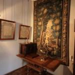 Фрагмент музейной экспозиции в Меншиковском дворце