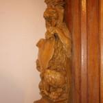 Фрагмент оформления Столового зала особняка В. Ф. Утемана