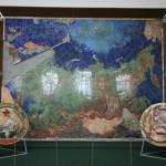 Карта СССР из драгоценных камней