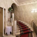 Парадная лестница в особняке Нейдгарта