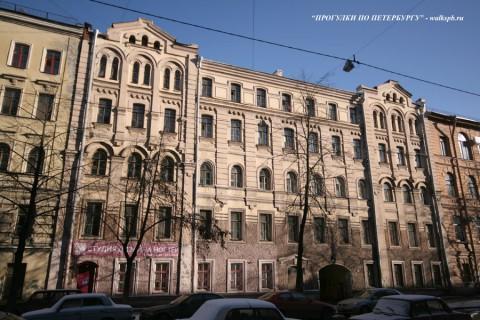 Здание Бестужевских курсов (10 линия ВО, 39). 2008.02.19.