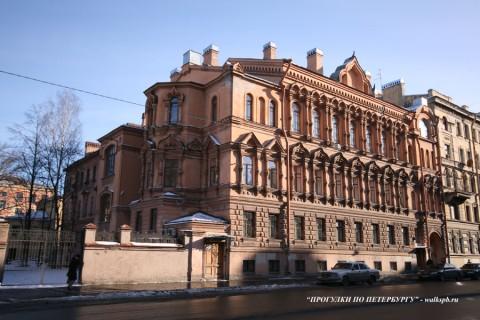 Здание Благовещенского синоидального подворья. 2008.02.19.