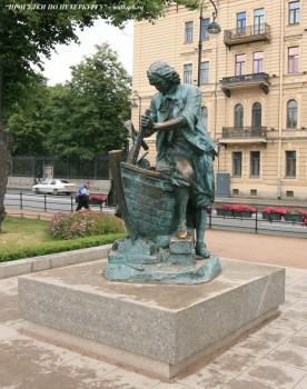 Чернега А.В., Памятник Петру-плотнику. 15.07.2012.