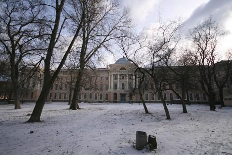 Сад Академии художеств. 2008.02.16.