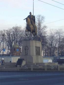 Памятник Александру Невскому. 2005.12.11.