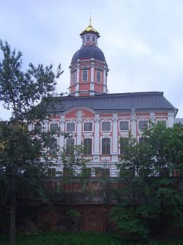 Благовещенская церковь Александро-Невской лавры. 2007.07.25.
