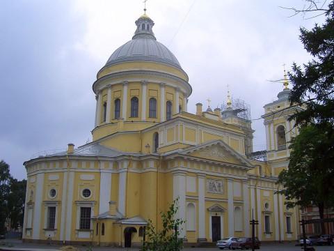 Свято-Троицкий собор Александро-Невской лавры. 2007.07.25.