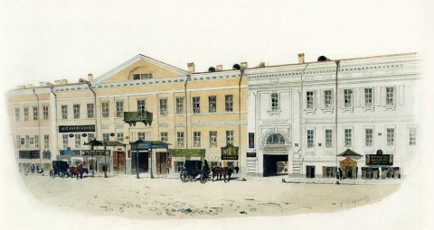 Баганц Ф. Ф., Дом Шиля / Малая Морская. 1851-1852 годы.