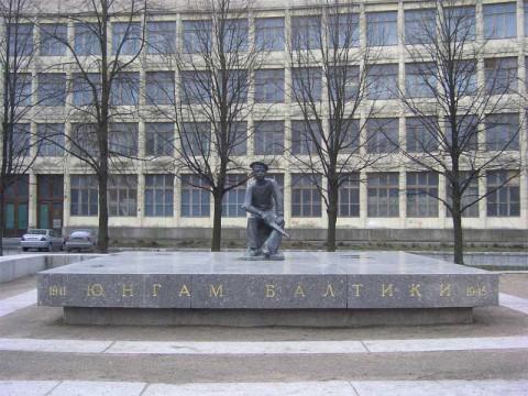 Памятник Юнгам Балтики. 2007.05.03.