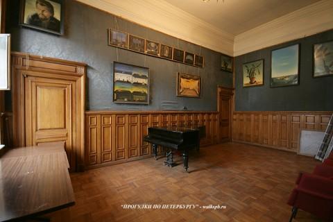 Зал в особняке Гагариной. 2010.06.12.