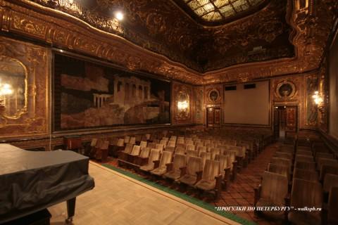 Бронзовый зал в особняке А. А. Половцова. 2009.01.18.