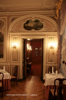 Ресторан в особняке А. А. Половцова. 2009.01.18.