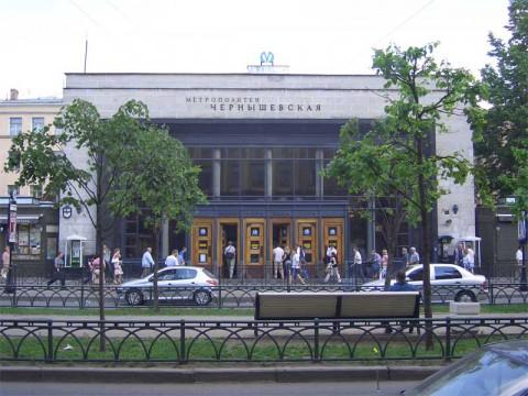 Вестибюль ст. м. Чернышевская. 2006.06.20.