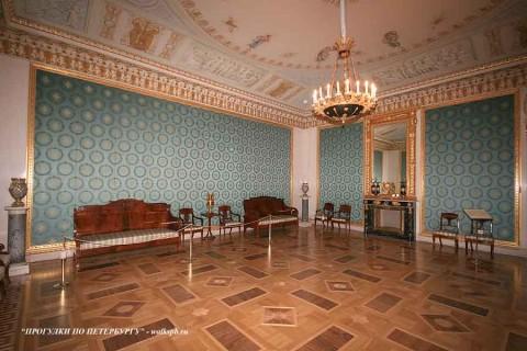 Зал в Елагиноостровском дворце. 2008.11.19.