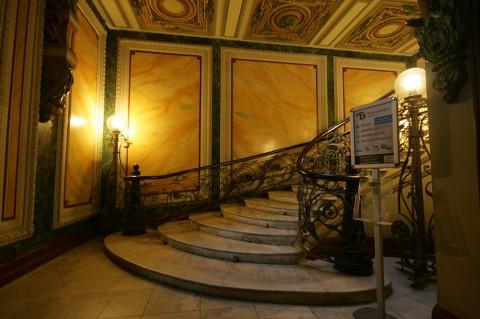 Чернега А.В., Парадная лестница дома Г. П. Елисеева. 2011.11.19.