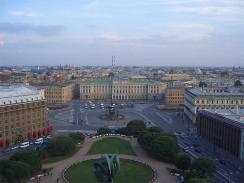 Исаакиевская площадь. 2006.08.26.