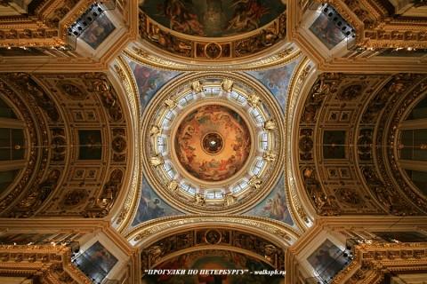 Купол Исаакиевского собора. 2009.04.12.