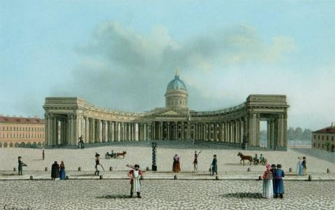 Соколов, Казанский собор. нач. 1820-х.