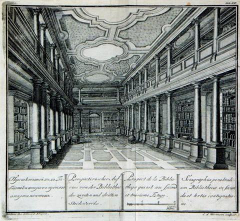 Перспективный вид библиотеки<br />Второго и Третьего апартаментов