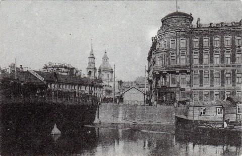 Фонтанка у Симеоновского моста.