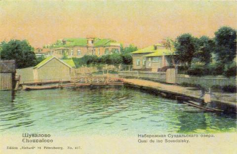 Шувалово, берег Суздальского острова.
