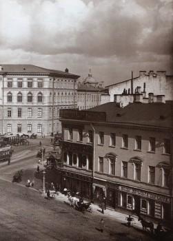 Неизвестный фотограф, Угол Московского и Загородного проспектов.